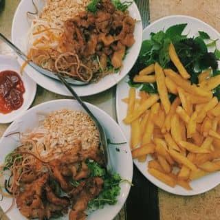Bún thịt nướng + khoai tây chiên của lethu18091998 tại 37 Lý Quốc Sư, Quận Hoàn Kiếm, Hà Nội - 1063430
