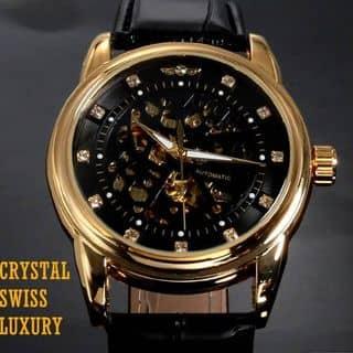 MS: C01 Đồng hồ CƠ NAM CRYSTAL SWISS lộ máy của shopdonghotre54 tại 54 Nguyễn Viết Xuân, Khương Mai, Quận Thanh Xuân, Hà Nội - 1050263
