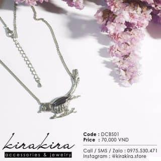 SALE OFF dây chuyền chim nhại DCBS01 của kirakira.store tại 0975.530.471, Quận Ba Đình, Hà Nội - 582520