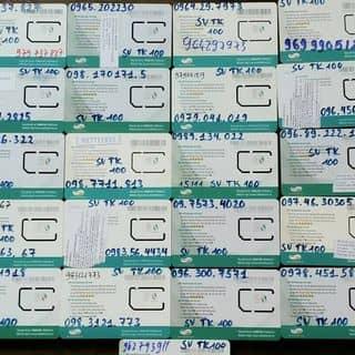 Sim sinh viên 10 số tài khoản 100 của thieugianhan tại Hà Nội, Quận Ba Đình, Hà Nội - 1031489