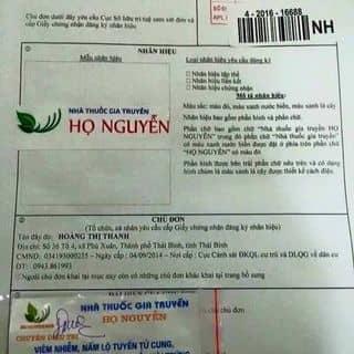 Thuoc phu khoa gia truyền của coiyeuoi tại Hà Nội - 1426916