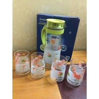Bộ bình cốc thủy tinh Ocean ensure gold  của heoconxubong tại Hà Nội - 3206027
