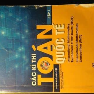 Các kì thi toán quốc tế  của user2001 tại Hà Nội - 3215277