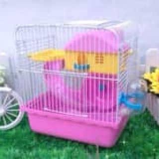 Chuồng hamster 1 tầng (đỏ) của aki tại Hà Nội - 3113783