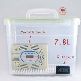 Combo hộp chống ẩm+ẩm kế mini+máy hút ẩm của juni94st tại Hà Nội - 2676554