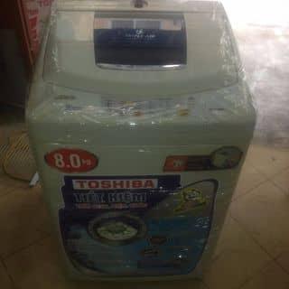 máy giặt toshiba 8kg.máy còn mới khoảng 93% nhìn đẹp của 12577 tại SÔ 44 ngõ 718 đường láng,đống đa ,hà nội, Quận Đống Đa, Hà Nội - 2897908