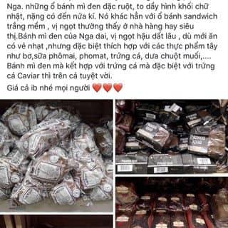 Mình bán bánh mỳ đen xách tay nga chuẩn 100% giá cả hợp lí của marung98 tại Hà Nội - 2683504