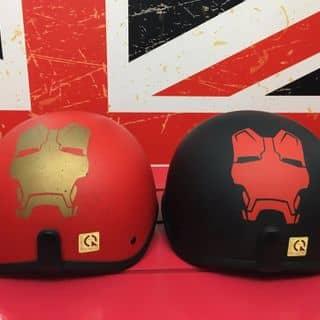 Mũ bảo hiểm HERO Helmets - HR1 - IRON MAN của tuannd8789 tại số 7, Ngõ 58, ngách 58/12, Đào Tấn, Ba Đình, Hà Nội, Quận Ba Đình, Hà Nội - 1819901