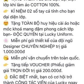 Nhận làm áo lớp, áo gia đình, công sở của zesuterrorist003 tại Hà Nội - 2675096