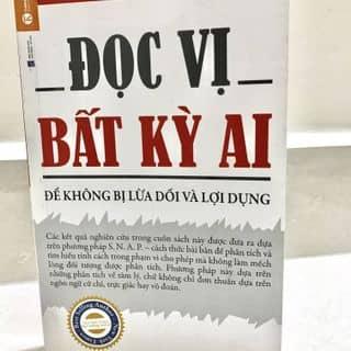 Sách Đọc vị bất kì ai. Quyển sách nên đọc để không bị lừa dối và lợi dụng. của truongphamthanhtam tại Hà Nội - 2604142