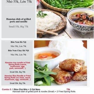 Special fried spring rolls with noodles của pr1 tại 9 Ngõ Trung Yên, Hàng Bạc, Quận Hoàn Kiếm, Hà Nội - 4794946
