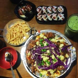 sườn nướng phômai + khoai chiên + kimbap của nghia.lucio tại 111k2 ngõ 48 Tạ Quang Bửu, Bạch Mai, Quận Hai Bà Trưng, Hà Nội - 3196393
